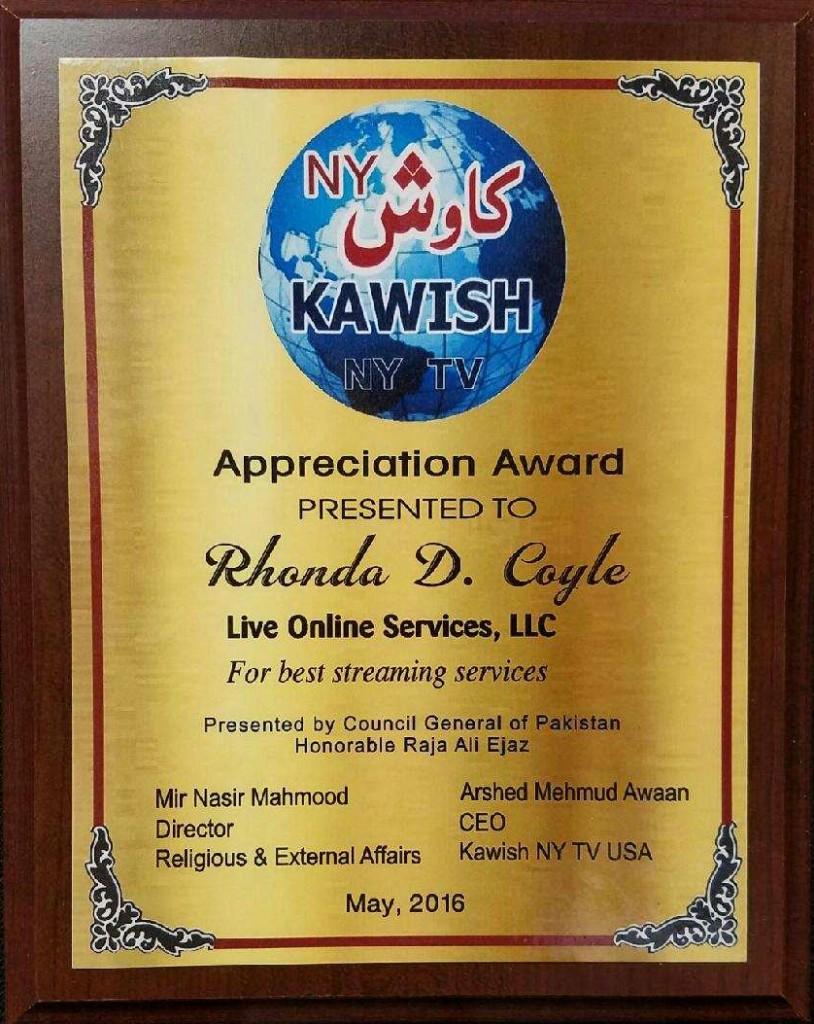 Kawish Award